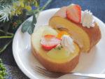 ロールケーキの盛り付け方やアレンジ 市販をデコレーション 簡単でおしゃれに★